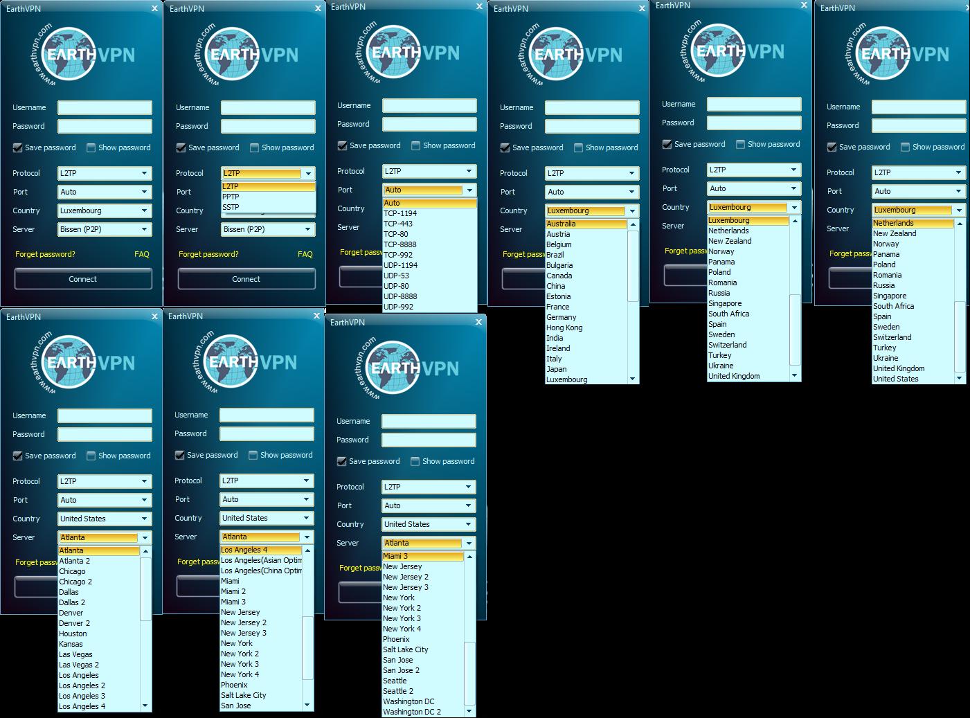 EarthVPN Windows, Freedom Hacker