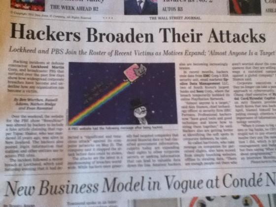 LulzSec Newspaper, Freedom Hacker