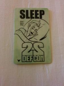 Def Con 22 Hotel Room Key
