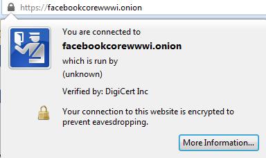 Facebook Hidden Service SSL Cert, Freedom Hacker