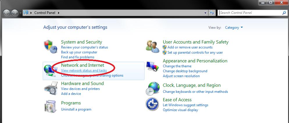 Change DNS Windows