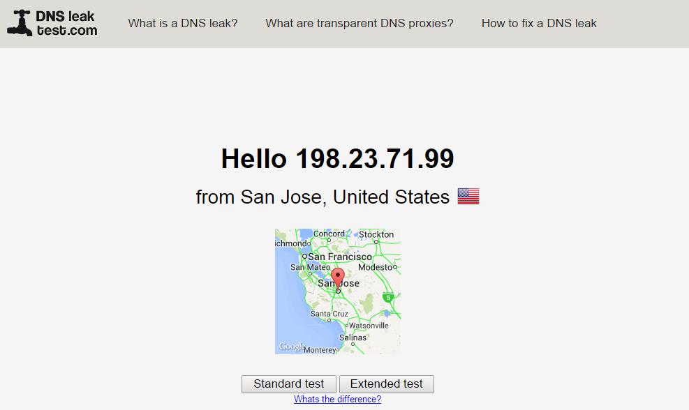 DNS Leak Test, Freedom Hacker