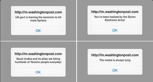 Washington Post Mobile Site Hacked