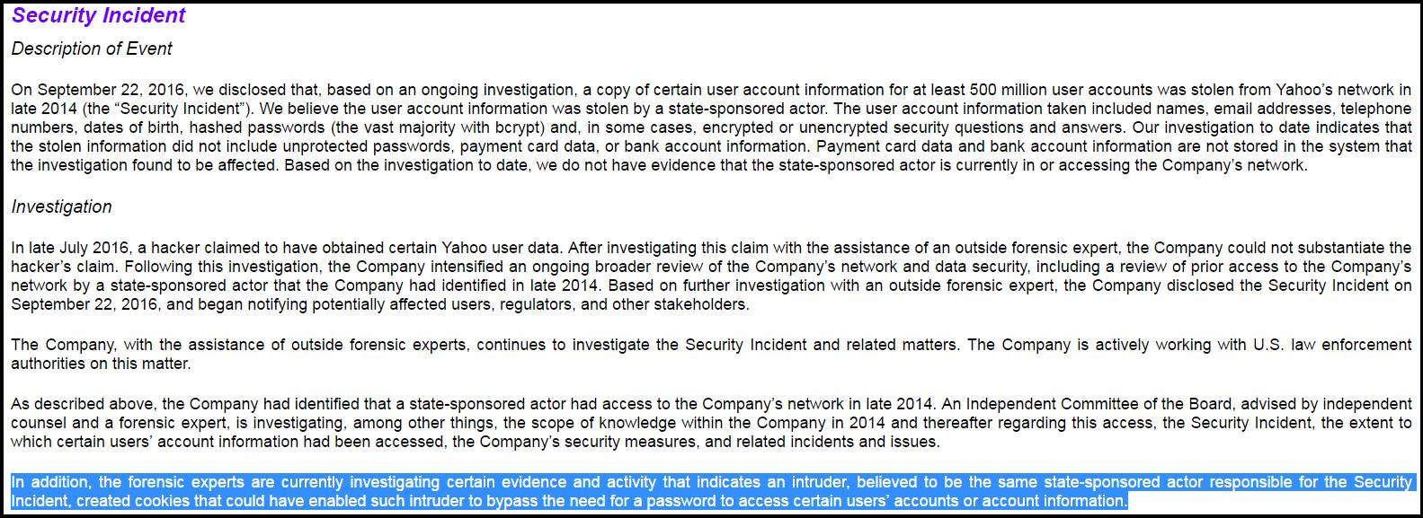 Yahoo Cookie Vulnerability