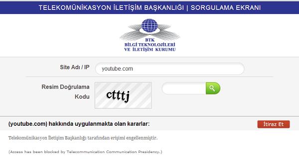 Turkey Blocks Access to YouTube After Blocking Twitter, Freedom Hacker