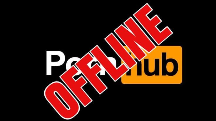 pornhub offline