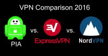 PIA vs NordVPN vs ExpressVPN