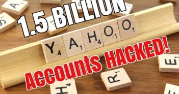 1.5 Billion Yahoo Accounts Stolen