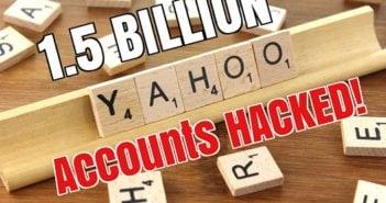 1.5 Billion Yahoo Accounts Stolen